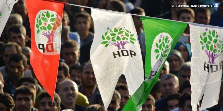 HDP, Şemdinli'de seçim çalışmalarına başladı