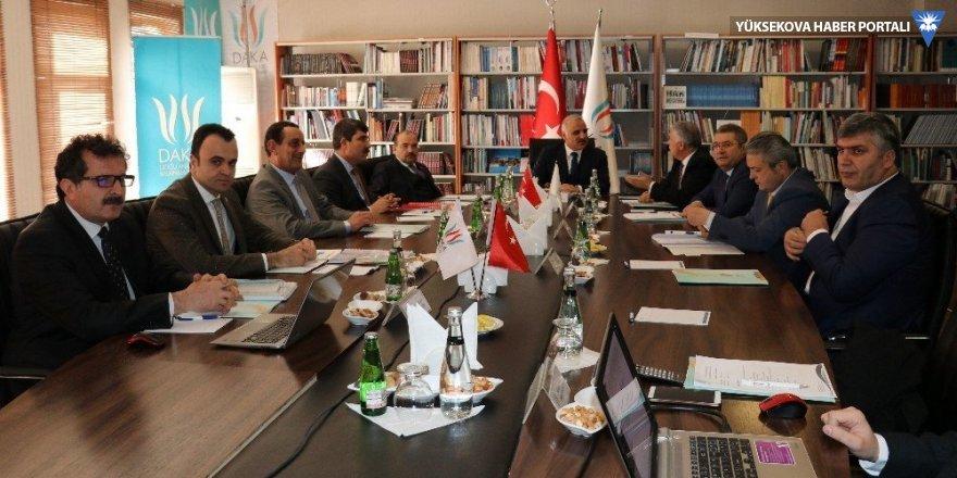 DAKA Yönetim Kurulu toplantısı Van'da yapıldı