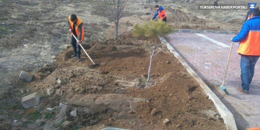 Erciş belediyesinden bahar temizliği