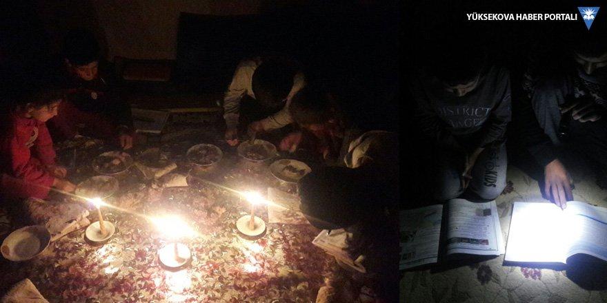 VEDAŞ, Yüksekova'daki bir köye 5 gündür elektrik vermiyor