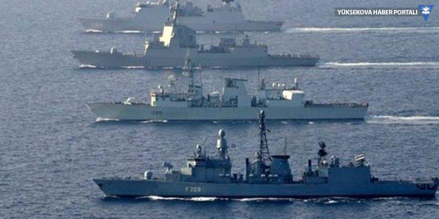 Ege'de kriz tırmanıyor, savaş gemileri devriyede