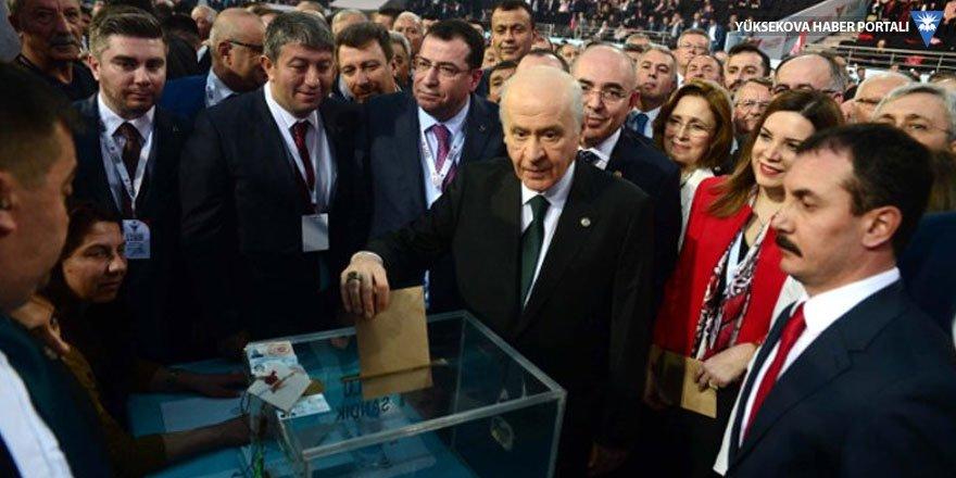 Bahçeli, 9'uncu kez genel başkanlığa seçildi