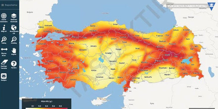 İnternette deprem sorgulama