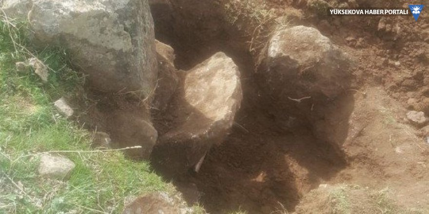 Muradiye'de kaçak kazı yapanlar suçüstü yakalandı