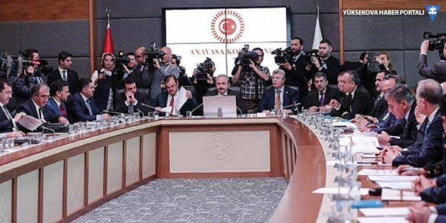 Seçim teklifi Anayasa Komisyonu'nda kabul edildi