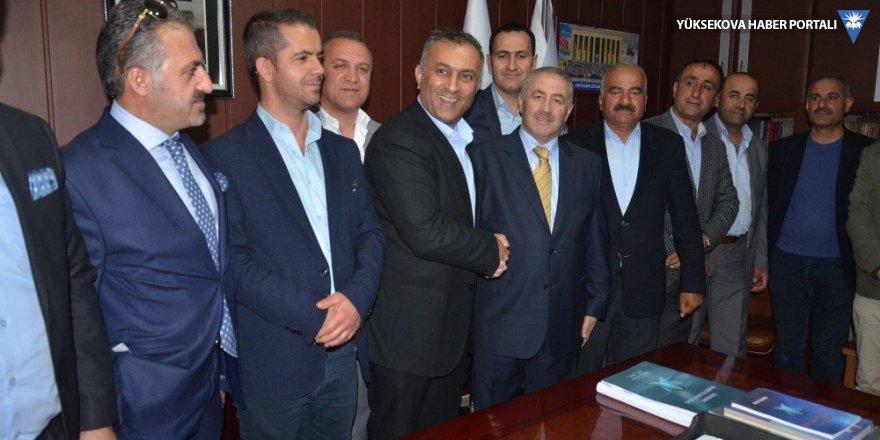Yüksekova'da ticaret odası başkanı Abdurrahman Pınar oldu