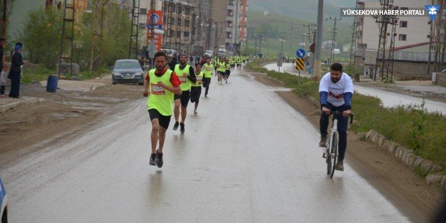 Yüksekova'da 'Yüksekrakım Maratonu' yapıldı