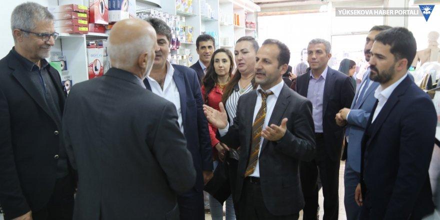 HDP Aday adayları esnafı ziyaret etti