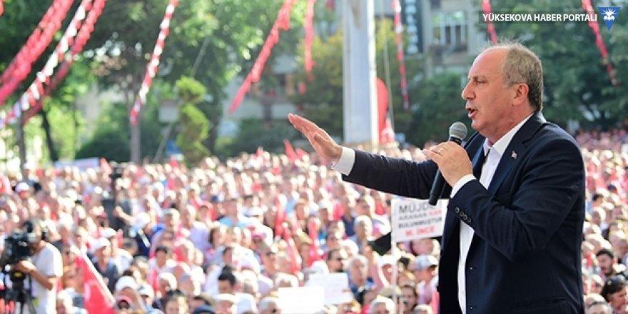İnce'den Erdoğan'a Çiller eleştirisi: Tarzan zorda