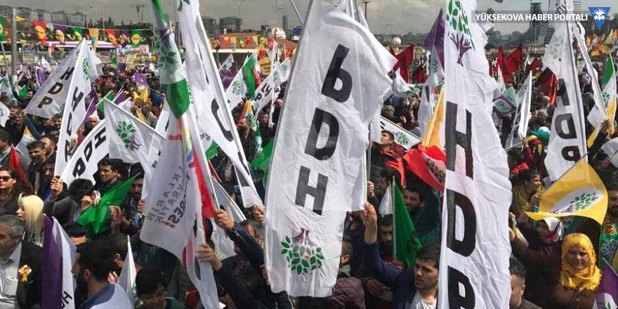 HDP'den Yüksekova mitingine davet