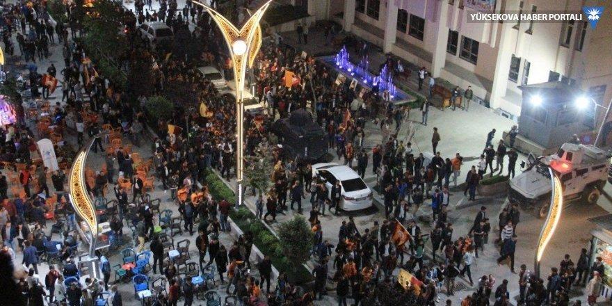 Hakkari'de Galatasaraylıların şampiyonluk sevinci
