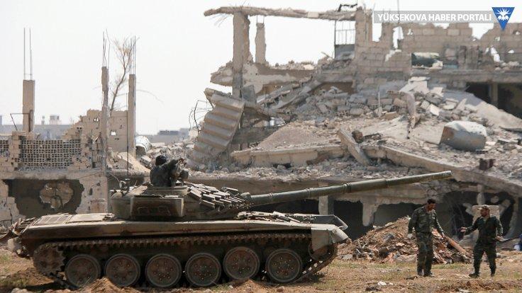 Şam militanlardan tamamen temizlendi