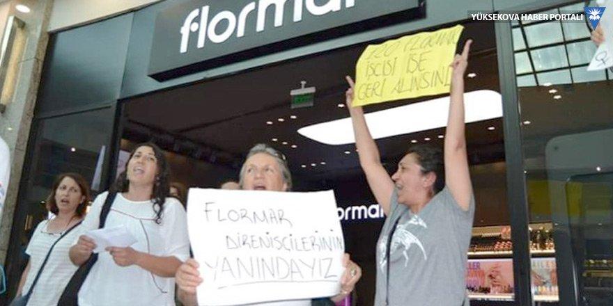 HDP'li kadınlardan Flormar işçilerine destek
