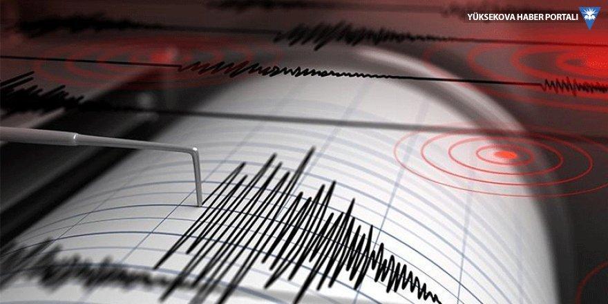 Ege Denizi'nde 4.9'luk deprem
