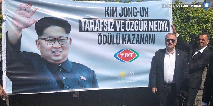 İYİ Parti'den TRT'ye 'Kim Jong-un ödülü'