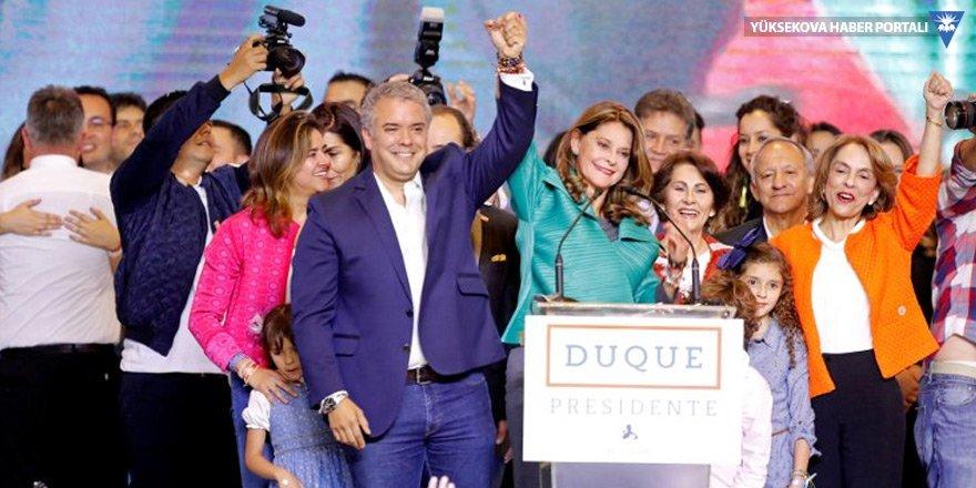 Kolombiya'da barış anlaşmasına seçim engeli: Sağcı aday zafer kazandı