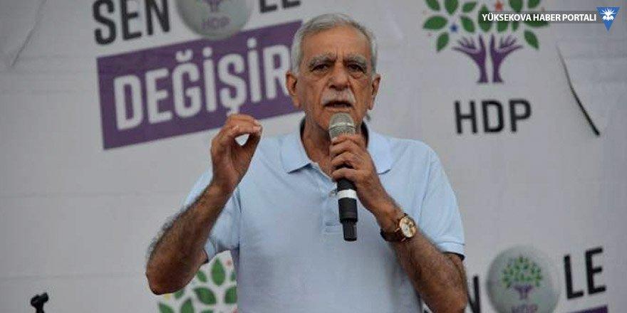 Ahmet Türk: Müjdeyi vermek istiyorum, Recep gidici