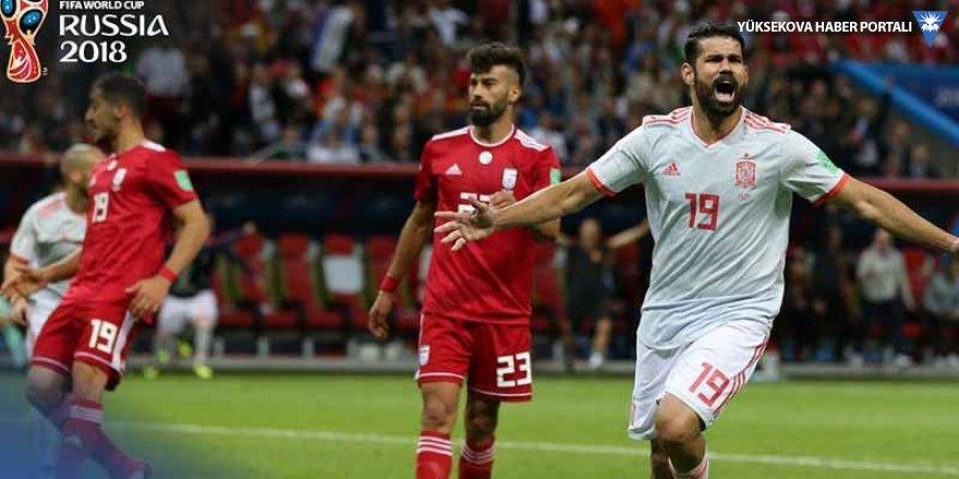 İspanya İran'ı 1'le geçti