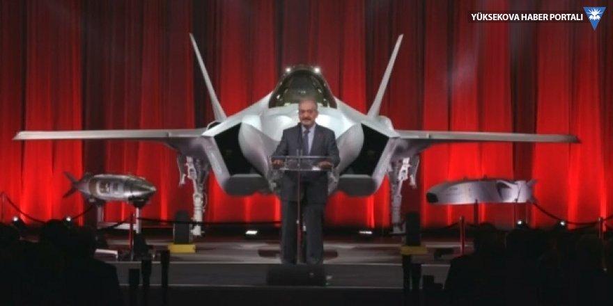 F-35 savaş uçağının teslimat töreni yapıldı