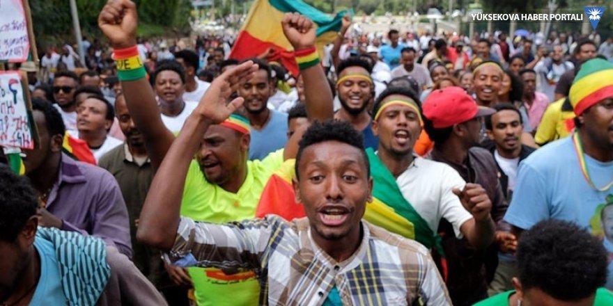 Etiyopya'da mitingde patlama
