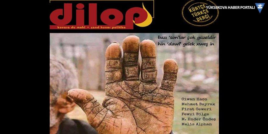 Dilop'un 3. sayısı çıktı: Ciwan Haco anlatıyor