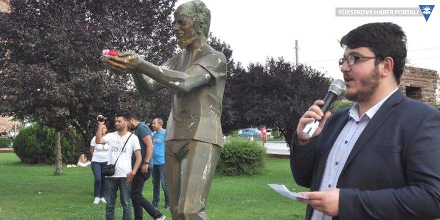 Ali İsmail Korkmaz, Eskişehir'deki heykelinin önünde anıldı