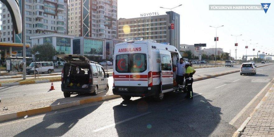 Diyarbakır'da trafik kazası: 6 yaralı