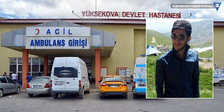 Yüksekova'da patlama: 1 yaralı