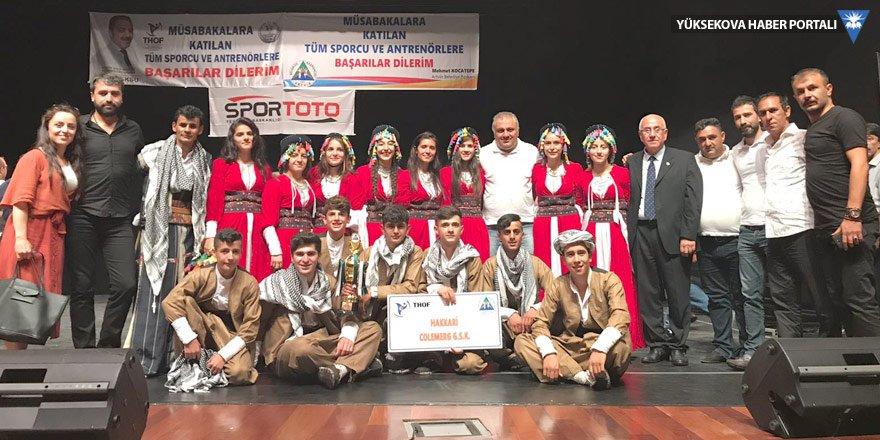 Colemerg Spor Kulübü 'Türkiye 2.' oldu