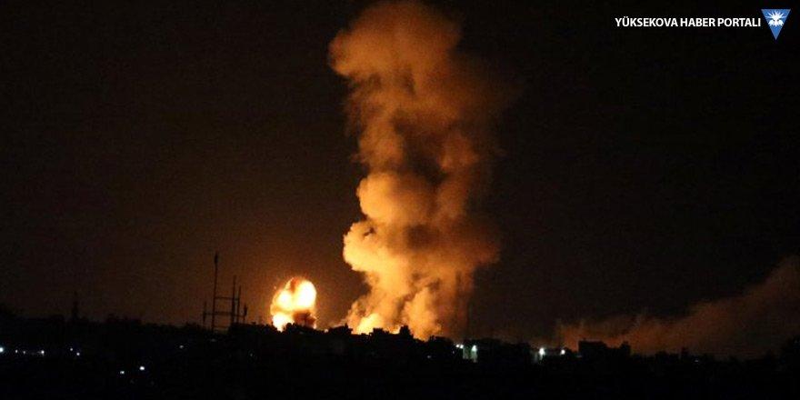 İsrail, Gazze'ye saldırdı: 4 Filistinli hayatını kaybetti