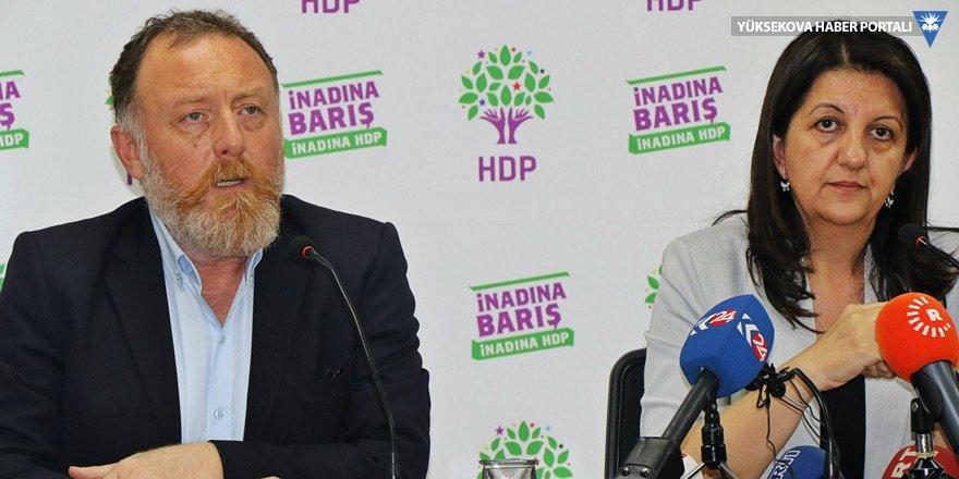 HDP'li Buldan ve Temelli'den bayram mesajı