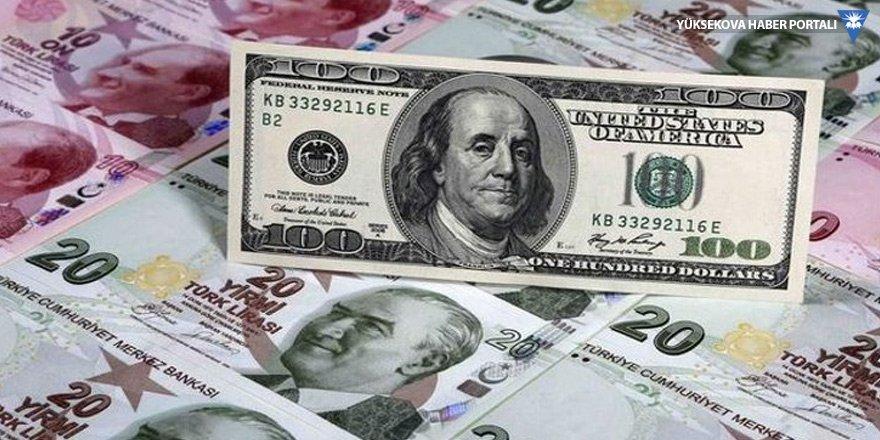Dolar 5,86 liraya geriledi