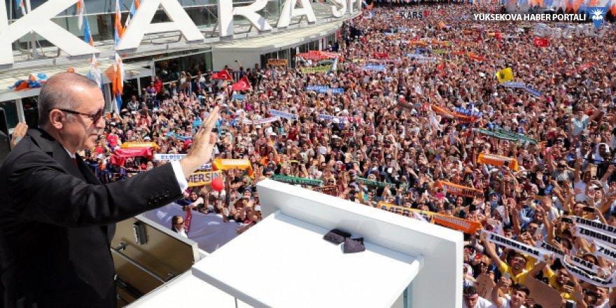 AK Parti kongresi başladı: 'Onların dolarları varsa bizim Allah'ımız var'