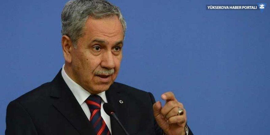 Bülent Arınç'tan 'AK Parti' sitemi