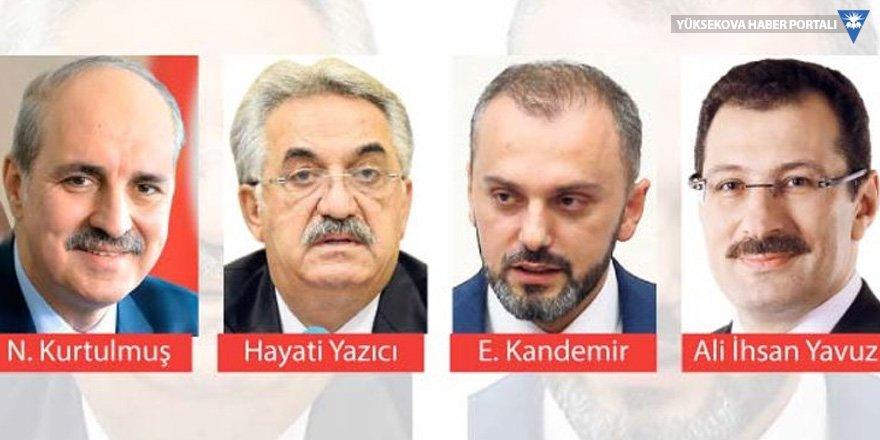 AK Parti'ye Karadenizli yönetim!