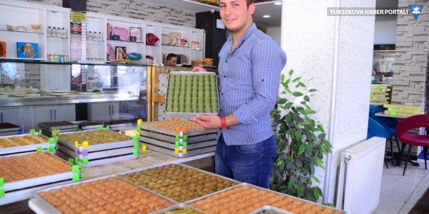 Bitlis'teki pastanelerde yoğun tatlı mesaisi