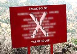 Elazığ ve Bingöl'de 31 bölge yasaklandı