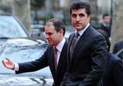 Davutoğlu ile Barzani görüşüyor