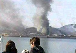 Hastanede yangın: 21 ölü
