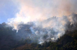 Goman Dağı bombalanıyor