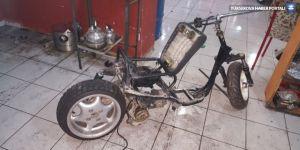 Hurdadan otomatik vitesli motosiklet üretti