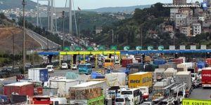Bomboş İstanbul'da bayram trafiği!