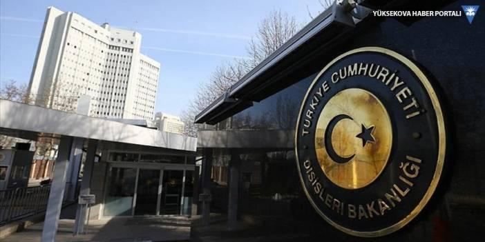 Dışişleri Bakanlığı: ABD makamları harekatın gerekçesini ve amacını hala idrak edemedi