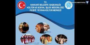 Hakkari Belediyesinin ücretsiz kursları başladı