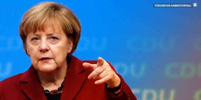 Merkel'den Afrin açıklaması: Kınıyorum!