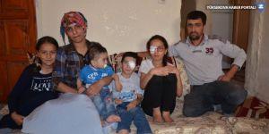 Yüksekovalı Ak ailesi yardım eli bekliyor