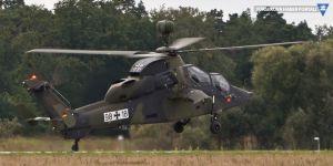 Almanya'ya ait askeri helikopter düştü