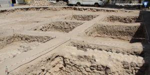 Hasankeyf'te 3 bin yıl öncesine ait altyapı tesisatı bulundu