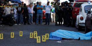 Meksika'da Ekim ayında 3 bine yakın kişi öldürüldü