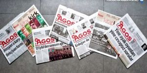 Agos'tan gazete aboneliği kampanyası